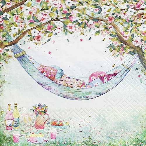 냅킨아트 363414 Hammock full of Cushions 냅킨20매 33×33cm 0990