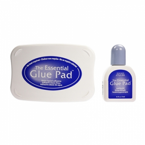 더 에센셜 글루 패드&잉크 GP-000-002 THE ESSENTIAL GLUE PAD & INKER (3T)