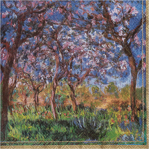 냅킨아트 L435300 MONET : PRINTEMPS A GIVERN 냅킨20매 33×33cm 2663
